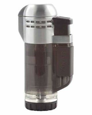 XIKAR Tech Double Torch Flame Cigar Lighter - Black 526BK