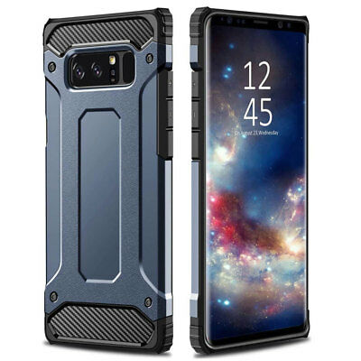 Hybrid Rugged Armor Shockproof Case Cover For Samsung Galaxy Note 9 8 S8 S9 Plus