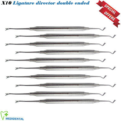10x Orthodontic Applying Instrument Double Ended Elastic Ligature Director Probe