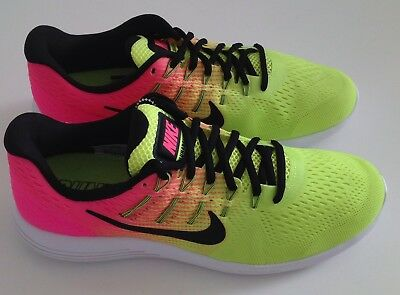411131409d7a ... Nike womens lunarglide 8 OC 844633 999 pink yellow  Nike Lunarglide 8 OC   New Nike Lunarglide 8 OC Men s Running Shoes Olympic 844632 999 10 M 10.5 M  ...