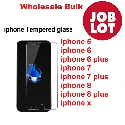 Wholesale Pack Of 100 Joblot Tempered Glass Screen Protector For All Iphone Best