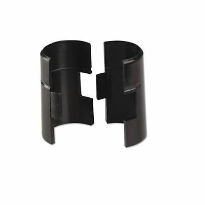 Plastic clip for cold and freezer room shelving (Black)
