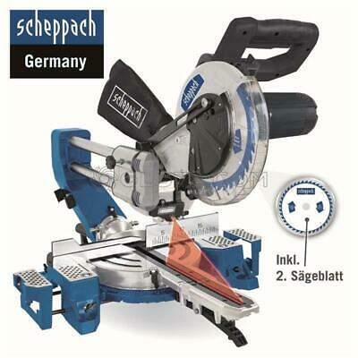 230V COMPOUND MITRE SAW WOOD 2200W Ø 216mm SCHEPPACH HM90SL
