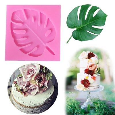 Turtle Leaves Silicone Fondant Mold Chocolate Sugarcraft Mould Cake Decor Baking
