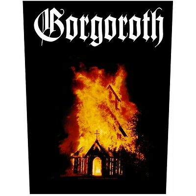 Gorgoroth Back Patch XLG free worldwide shipping