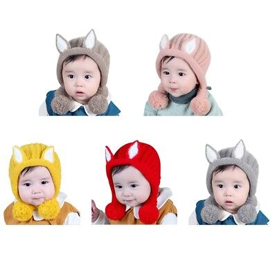 Cute Newborn Kids Baby Wool-Beanie Soft Girl Boy Knit Hat Toddler Infant Kid Cap