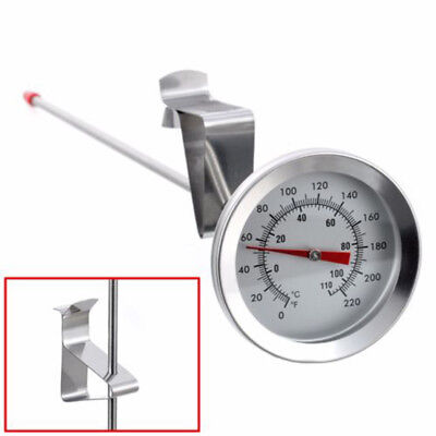 2018 Deep Fry Sugar Jam Preserving Home Brew Chip Thermometer 35 Cm Long Probe J