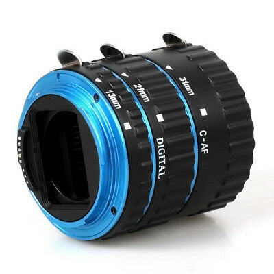 Adapter Ring Metal Mount Auto Focus Macro Extension Compatible For Canon Lens