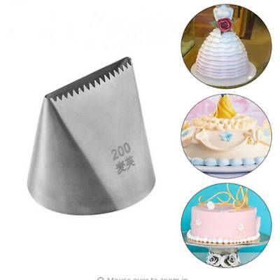 Large Stainless Steel Icing Piping Nozzles Cream Cake Decorating Cake Tools