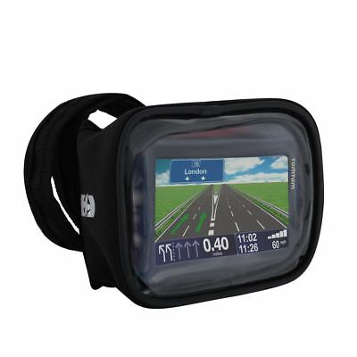 Oxford Strap-Nav Motorcycle Navigation Holder Motorbike Sat Nav Carrier Black