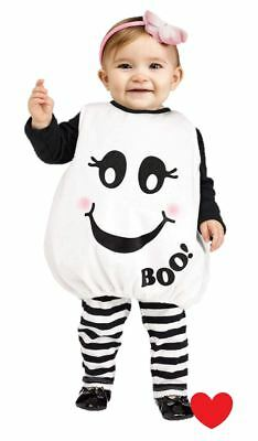 toddler baby halloween fancy dress costume ghost SUPER CUTE 24 months