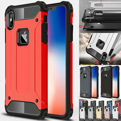 Ultra Thin Shockproof Hyrird Armor Case for iPhone Xs Max/Xr/X Hard Bumper Cover