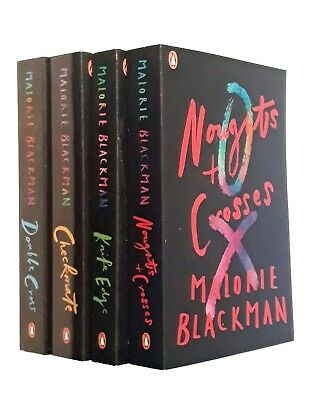 Noughts and Crosses Series 4 Books Malorie Blackman Double Cross Checkmate New