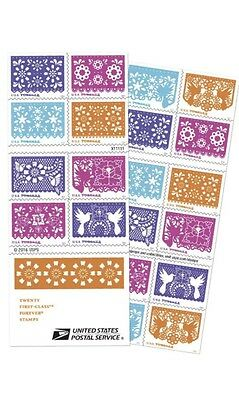 USPS New Colorful Celebrations booklet of 20  FREE DOMESTIC SHIPPING