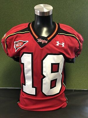 new concept d84ec 97bf9 MARYLAND TERRAPINS TERPS Game Used Football Jersey - $69.99 ...