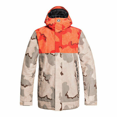 Dc shoes defy jacket incense dcu camo fw 2019 giacca snowboard new s m l xl c0188b679ff