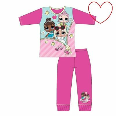 Girls LOL Surprise Pjs Dolls Set Kids Pyjamas Pajamas Character Gift