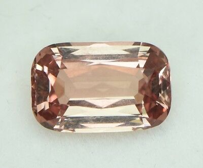 Natural Peach Apricot Mahenge Garnet Gemstone Cushion 3.6ct