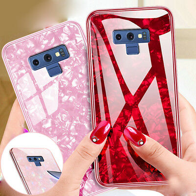 For Samsung Galaxy Note 9 8 S8 S9 Plus Case Shockproof Temper Glass Hybrid Cover