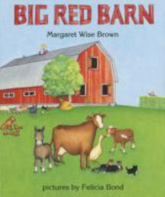 BIG RED BARN by Margaret Wise Brown a Hardcover Children's board book FREE SHIP