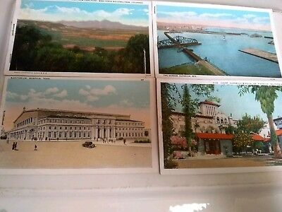 Vintage lot of postcards from the 1920's 1930's 17 cards