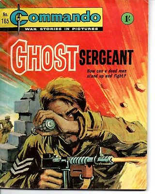 D.C. Thomson Commando Comic War Stories, Issue 165, May 1965, Ghost Sergeant
