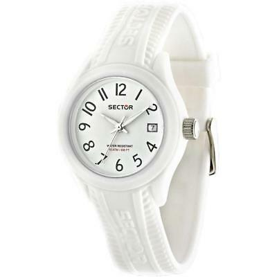 Orologio SECTOR STEELTOUCH R3251576507 Silicone Bianco SMALL 36mm Unisex WR 100m