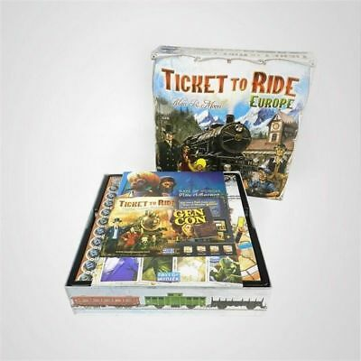 Ticket to Ride Europe Board Game - Brand New Sealed - FREE FAST SHIP UK seller