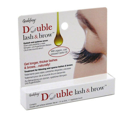 637e9f7c141 GODEFROY DOUBLE LASH & brow Eyelash and Eyebrow Serum .1 oz./3ml ...