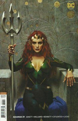 Aquaman Issue 39 - Rare Joshua Middleton Mera Variant Cover - Dc Comics
