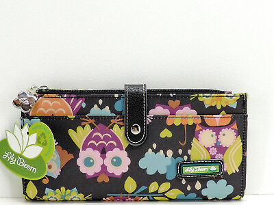 0190236f43b8 NWT LILY BLOOM Liza Wallet What A Hoot Owl Print - Eco Friendly Cute ...