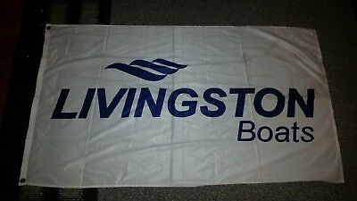 LIVINGSTON BOAT FLAG 3' x 5'