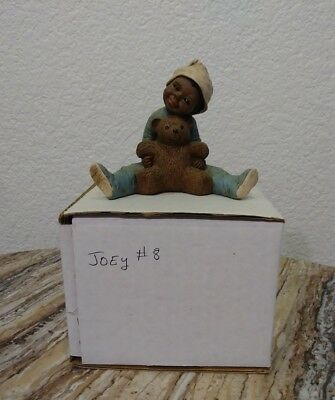 "ALL GOD'S CHILDREN Figurine By Martha Holcombe ""Joey"" #8 New In Box"