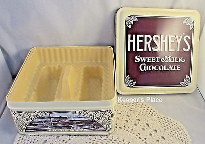 Hershey's Milk Chocolate 1912 Vintage Edition #1 Collectible Tin Insert Paper