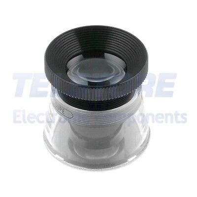 1pcs  Loupe de bureau Gross x22 Diamètre lent 32mm