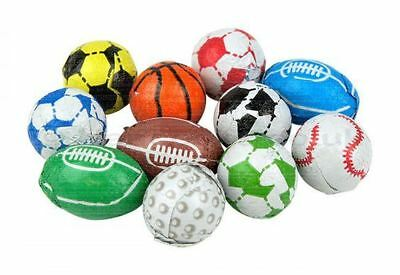 Kingsway Retro Sweets -  Chocolate Sports Balls  - Wedding / Party Bag 500g