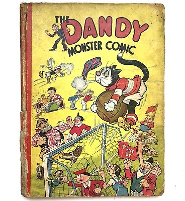 The Dandy Monster Comic 1944 Book Classic Annual