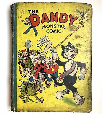 The Dandy Monster Comic 1941 Book Classic Annual