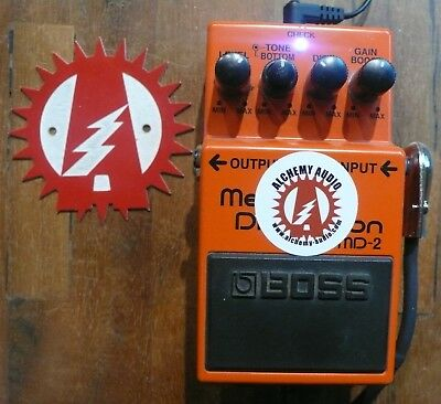 Alchemy Audio Modified Boss MD-2 Mega Distortion Effects Pedal