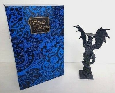 Dragon Candle Holder 29cm Veronese Design Studio Collection Fantasy - NEW RARE!