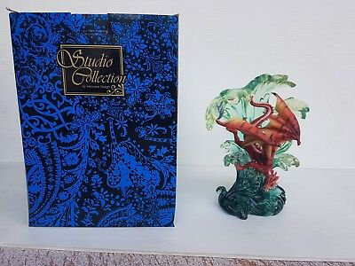 Dragon in Waves Statue 21cm Veronese Design Studio Collection Fantasy NEW RARE!