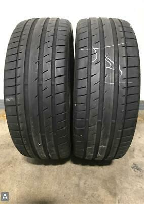 Continental Extremecontact Dw >> 2x P215 40r18 Continental Extremecontact Dw 8 32nds Used