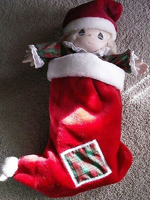 "New Precious Moments 1997  ""Jingles""in Christmas Stocking"