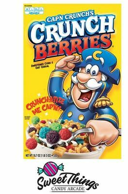 Cap'n Crunch's Crunch Berries 370g Cereal Extra items free postage Capn Captain
