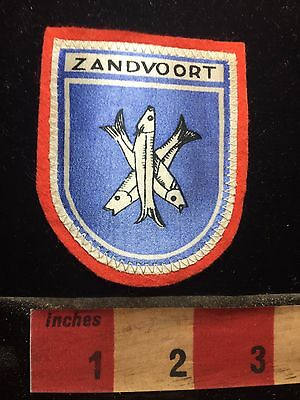 ZANDVOORT Holland / The Netherlands Patch BENELUX Nation C75D