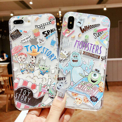 Disney Hot 3d Cartoon Silicone Phone Case Cover For Iphone Xs Max Xr