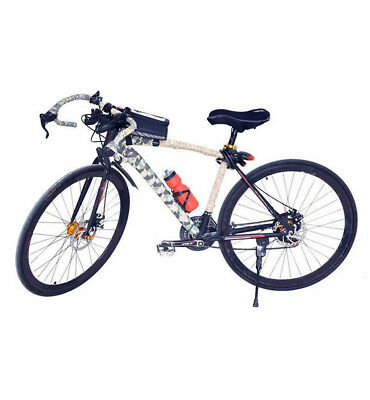 750ML Bike Cycling Water Drink Bottle & Portable Bicycle Holder Cage Multicolor