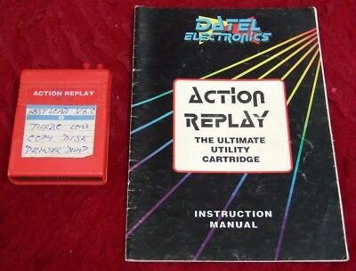 Action Replay Professional V6.0 for Commodore 64 C64 with manual