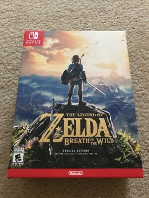 New Seal Legend of Zelda: Breath of the Wild -- Special Edition Nintendo Switch