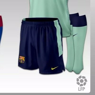 8a16fbbe8 NIKE FC Barcelona FCB Dri-Fit Performance Soccer Shorts Men s Size XXL NWT  2010